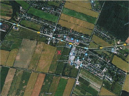 Maps Ansicht des Grundstückes