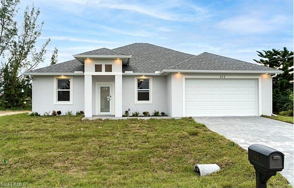 Brand new home in Cape Coral, Florida