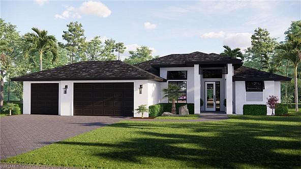 Pre-Construction! - Branntneue Villa in Cape Coral, bezugsfertig März/April 2022