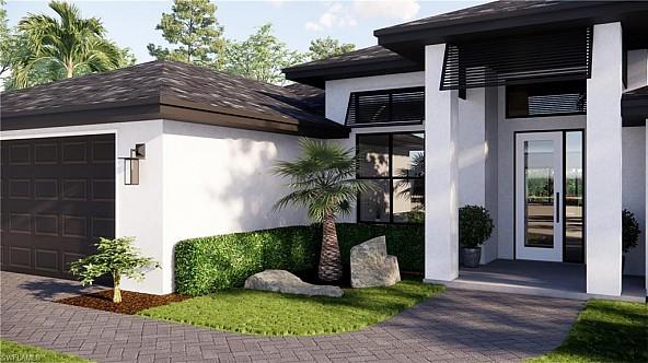 Traumhafte neue Villa in Cape Coral, bezugsfertig März/April 2022
