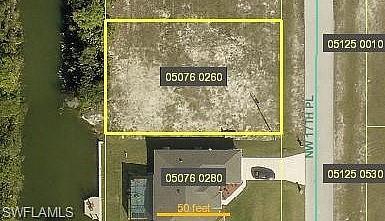 Grundstück mit Westlage in Cape Coral